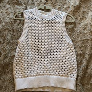 Theory Crochet Top
